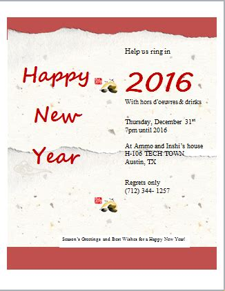 How To Write New Year Greeting Letter